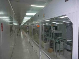 超净流水线工程-百级净化生产线