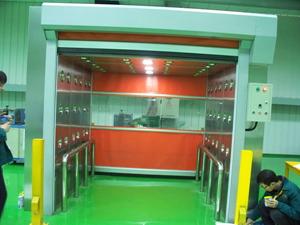 快速卷帘门风淋室-卷帘门货淋室-自动卷帘门风淋室